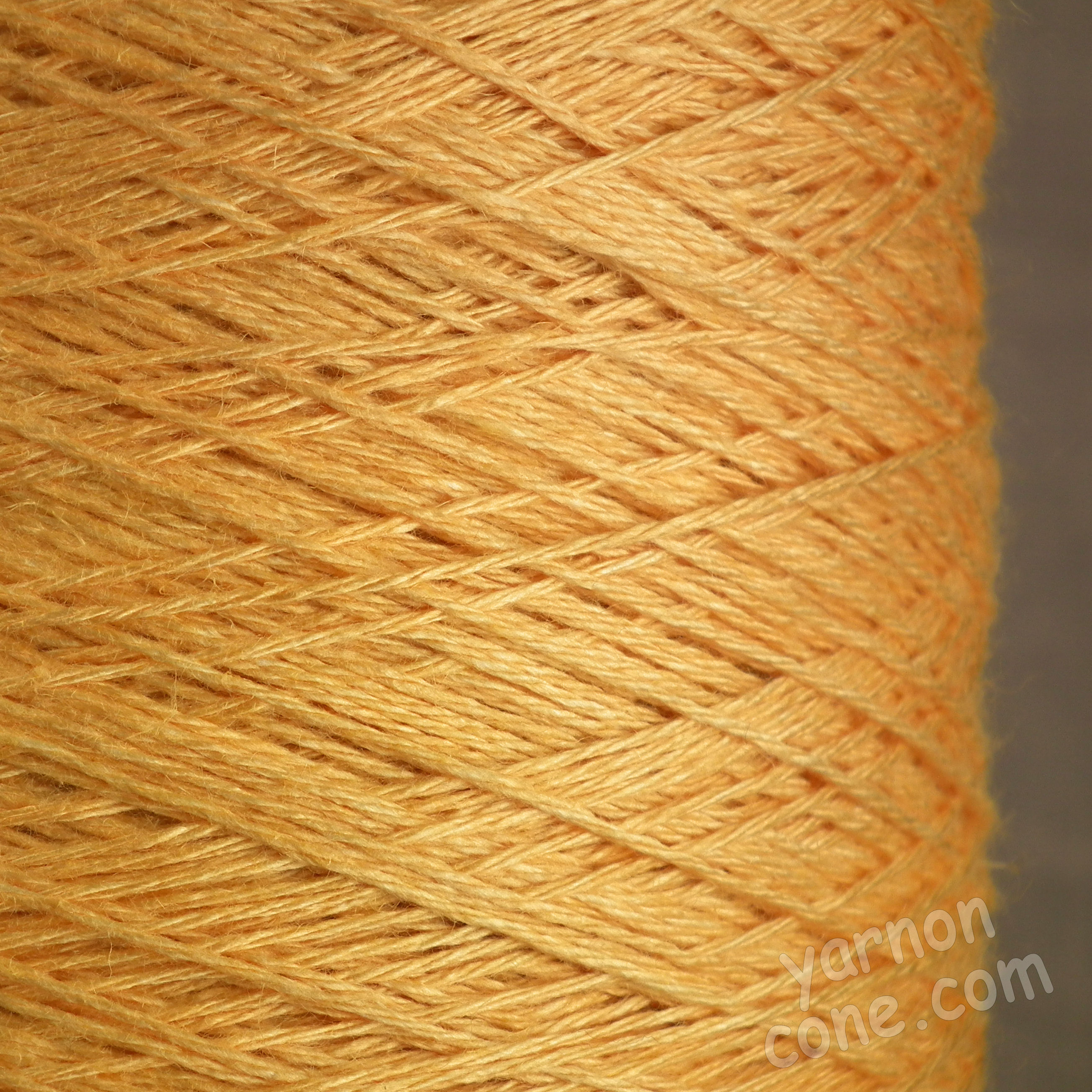 soft 4 ply viscose linen yarn on cone knitting weaving crochet apricot