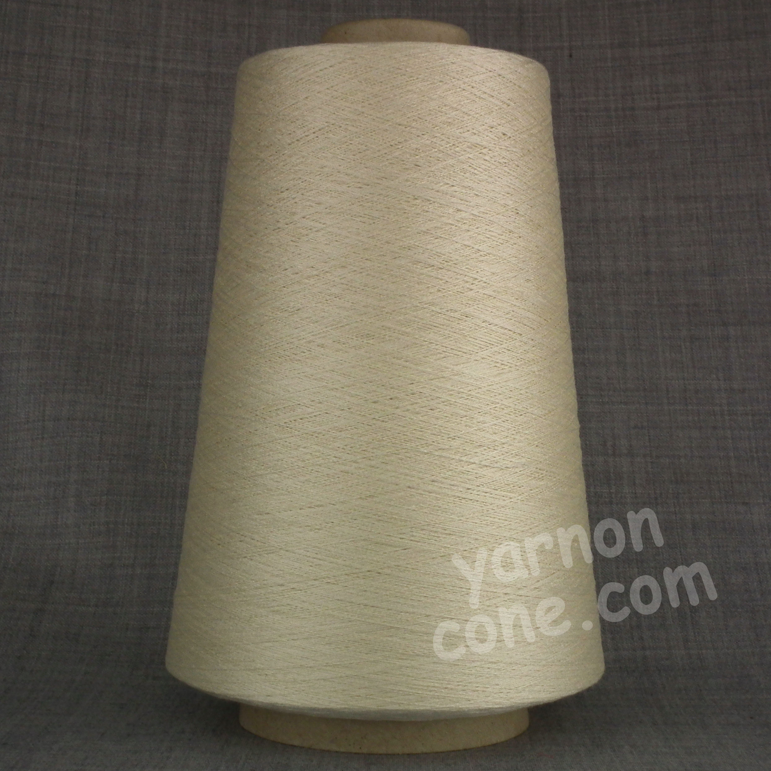 Pure silk cobweb yarn 2/120 NM italian 2/120NM on cone weaving knitting cream ivory