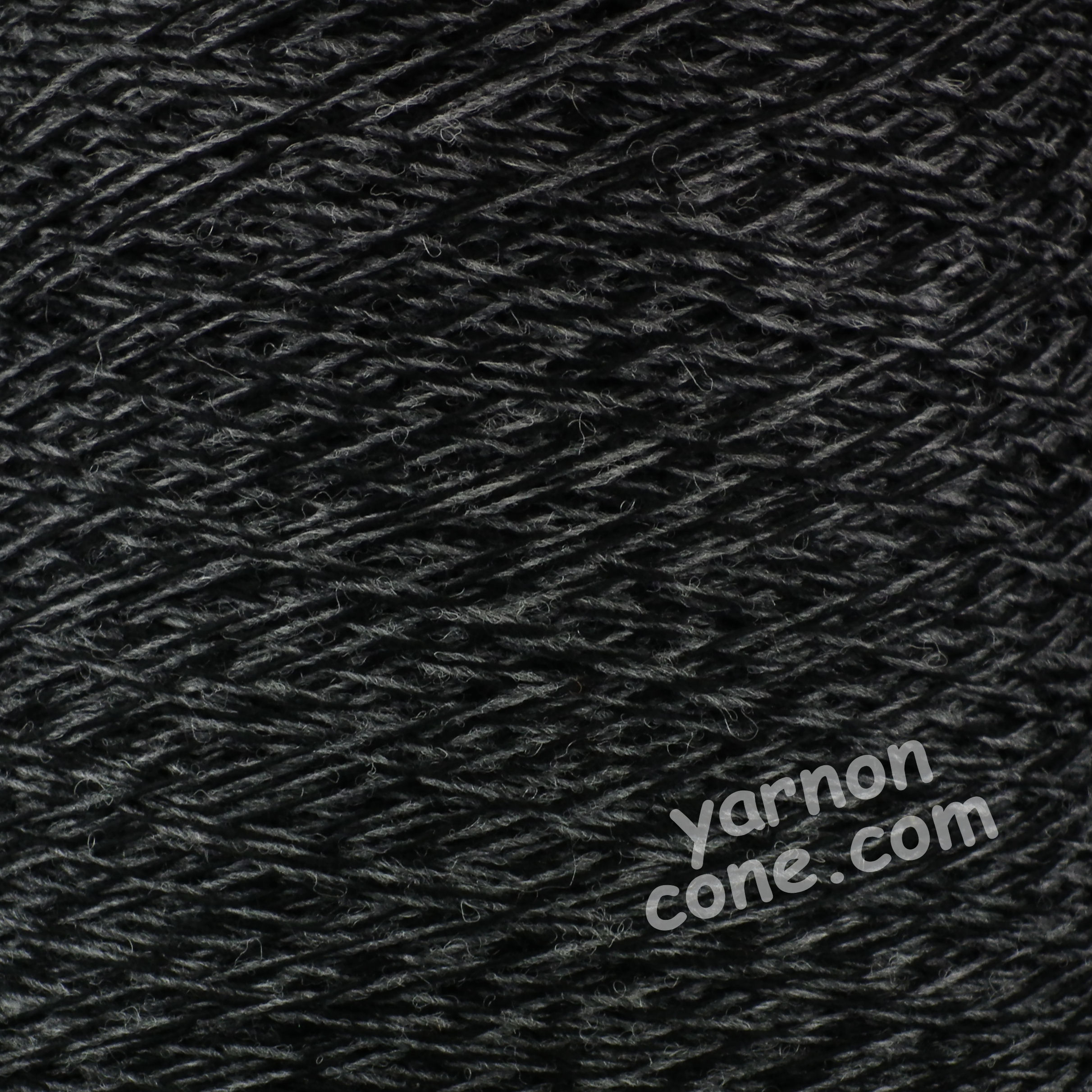 Shetland weaving wool nylon 80 20 2/9 NM black grey tweed marl yarn on cone uk
