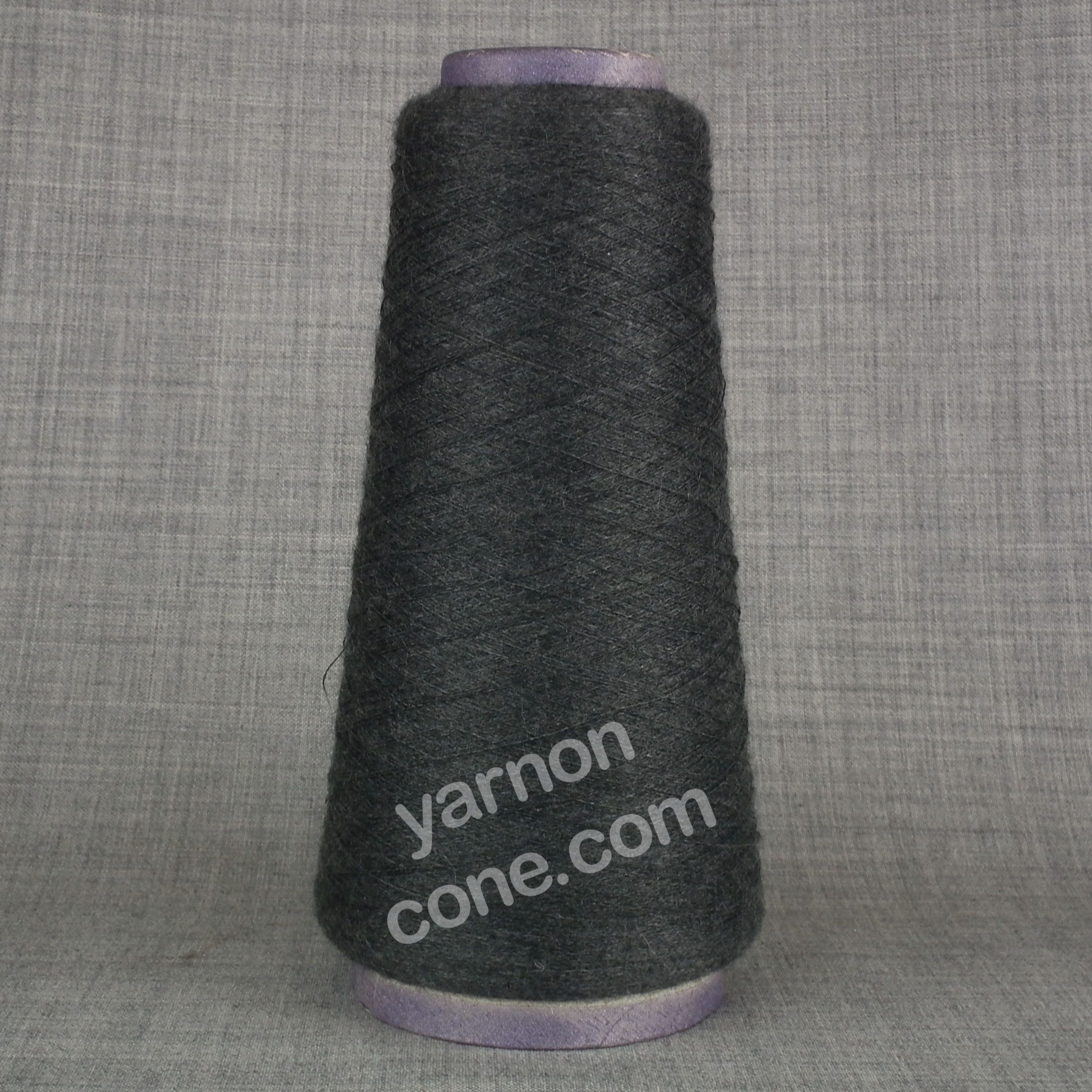 cashmere silk cobweb yarn fine 1/120s NM Italian luxury yarn cone grey